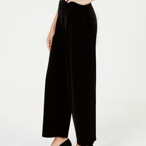 Alfani Petite Velvet Wide Leg Pants Size PM